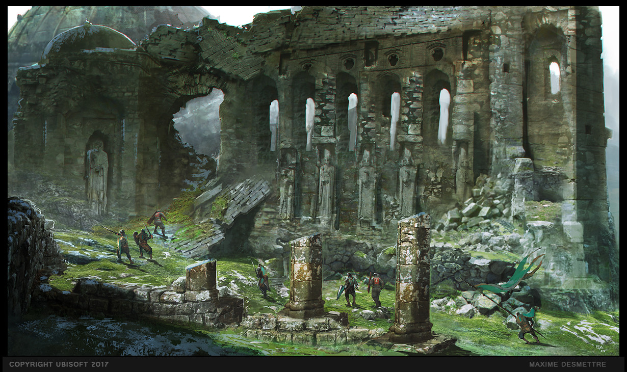 For Honor Concept Art By Maxime Desmettre Concept Art World