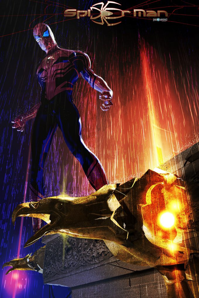 4 Concept Spider Man Art