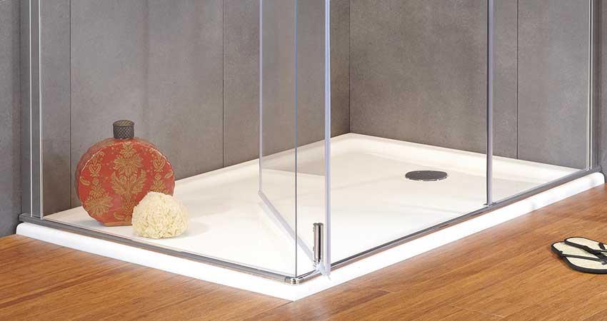 valentin presente une bonde de douche