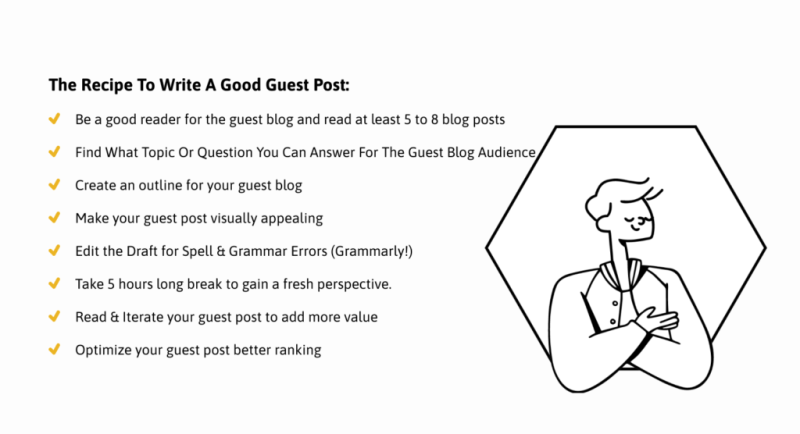 How to Write a Good Guest Post That Gets Published and Shared?