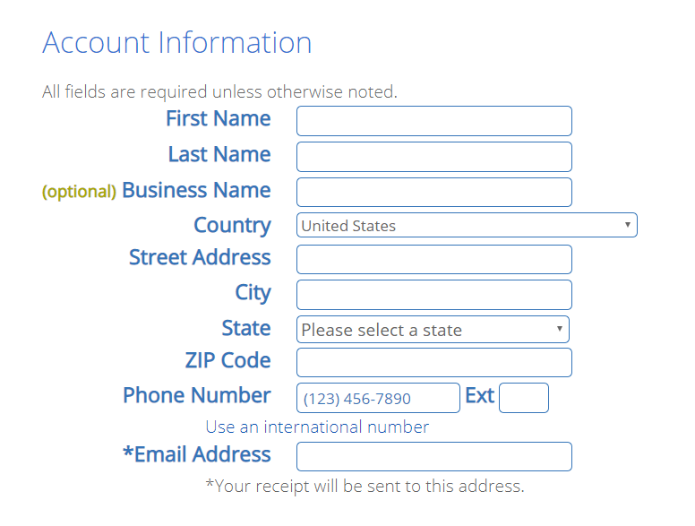 bluehost hosting step 4