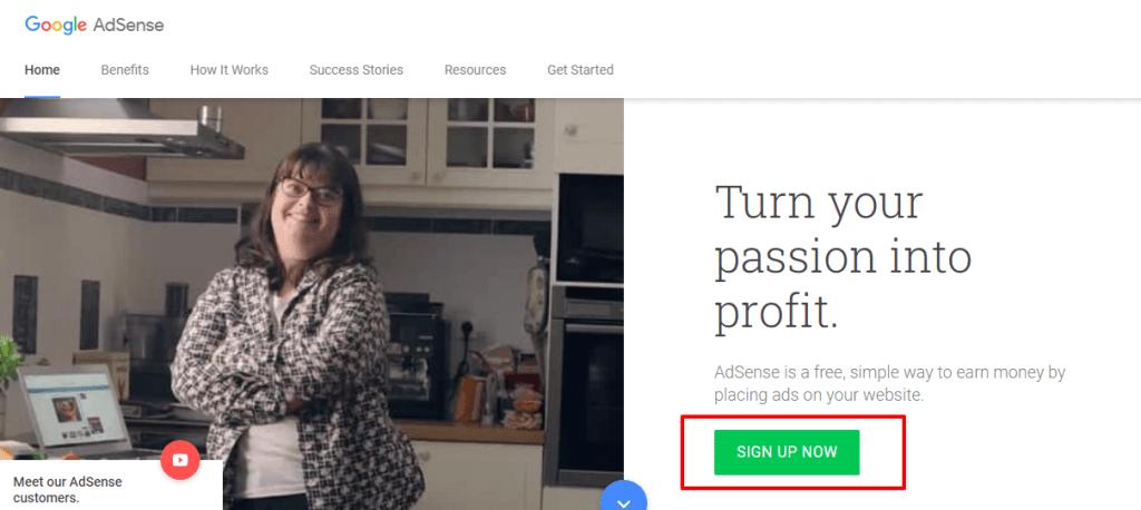 Make Money Online Through Website Monetization Google AdSense – Google