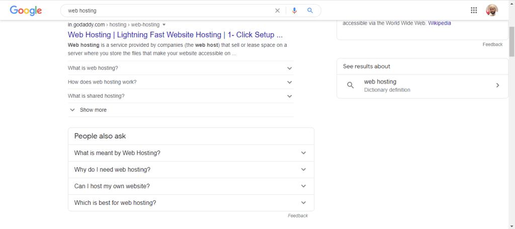 google autosuggestion