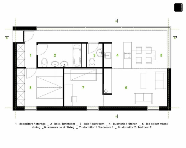 casa tip 2
