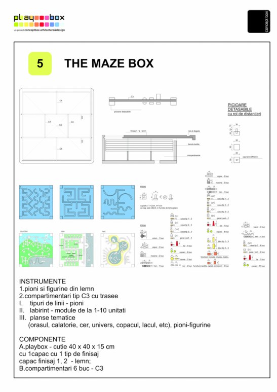 the maze box