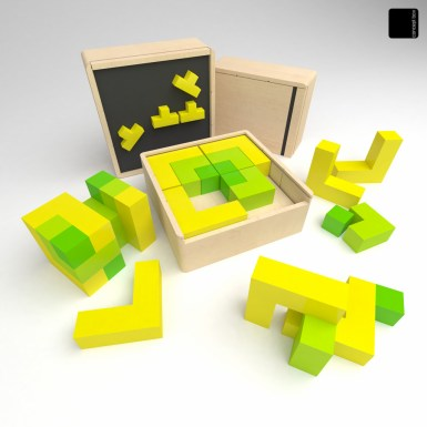 the tetris box