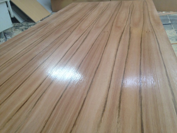 Polished Venner Blackbutt table top