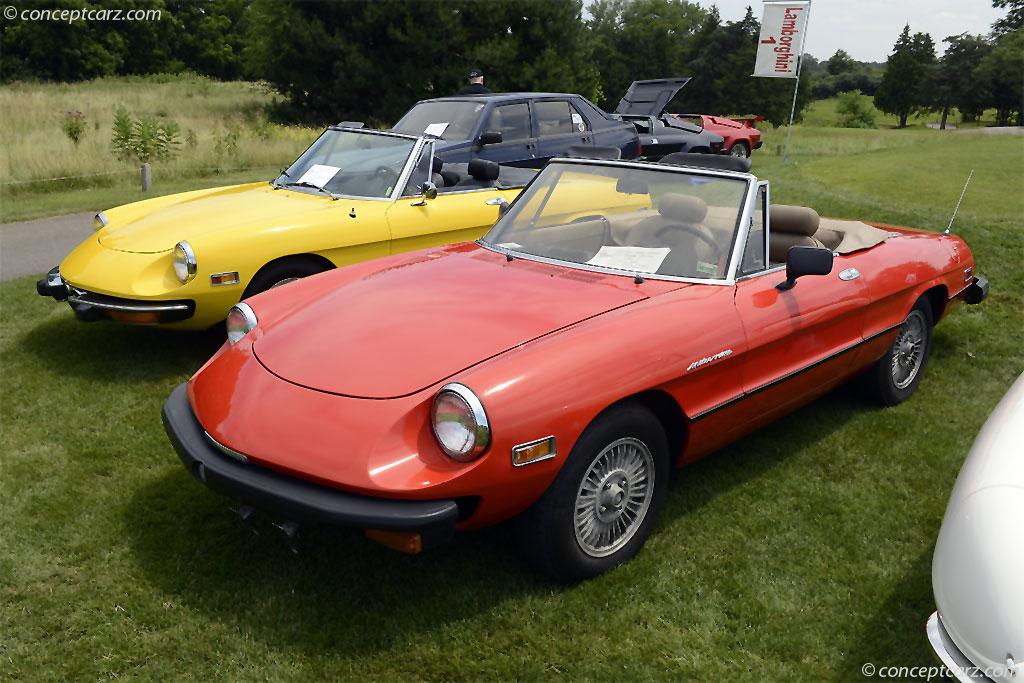 1980 Alfa Romeo Spider Veloce History, Pictures, Value