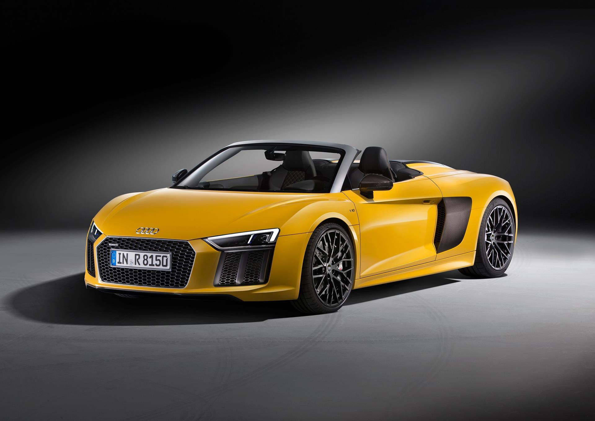2016 Audi R8 Spyder News And Information  Conceptcarzcom