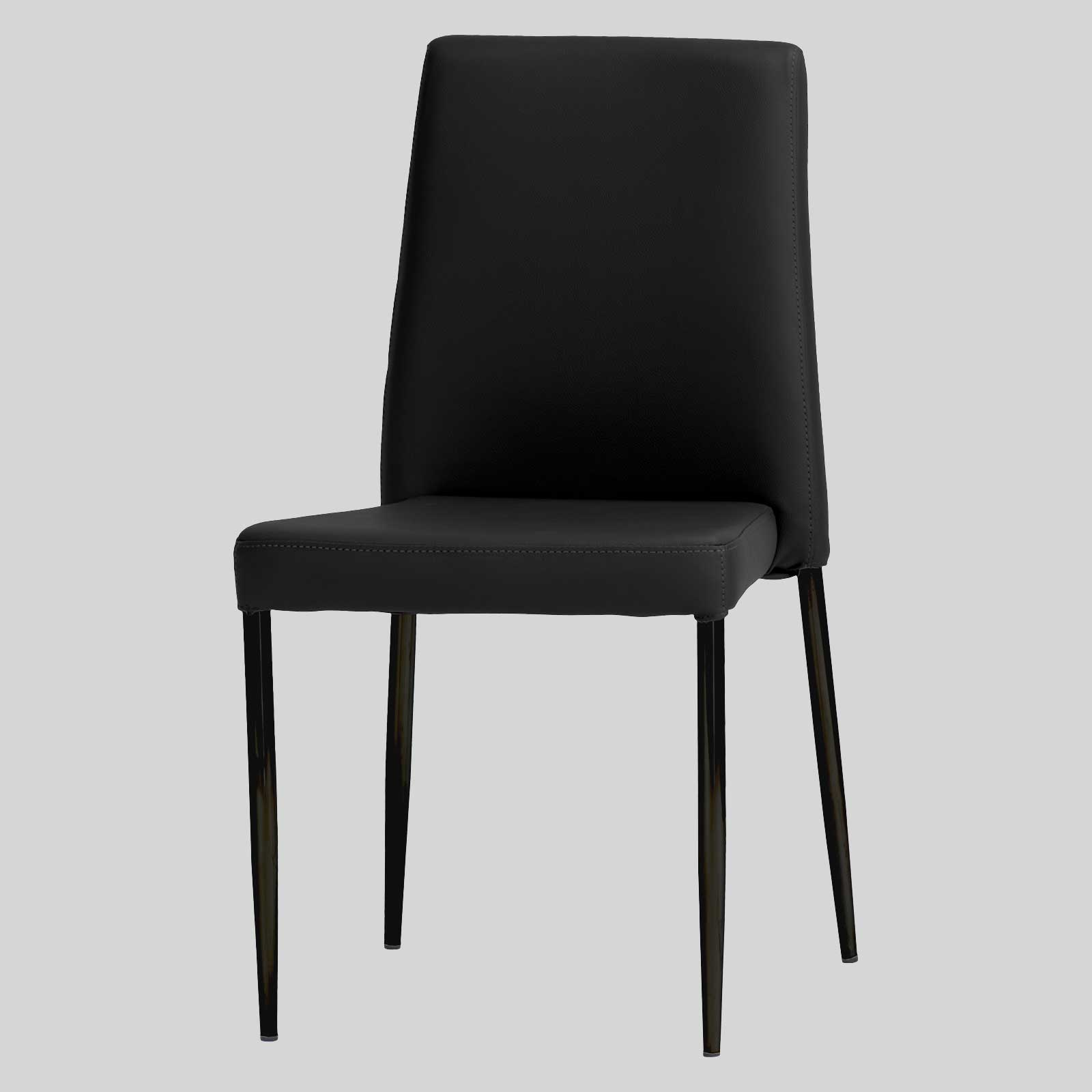 low back dining chairs butterfly leather chair stackable adelaide concept