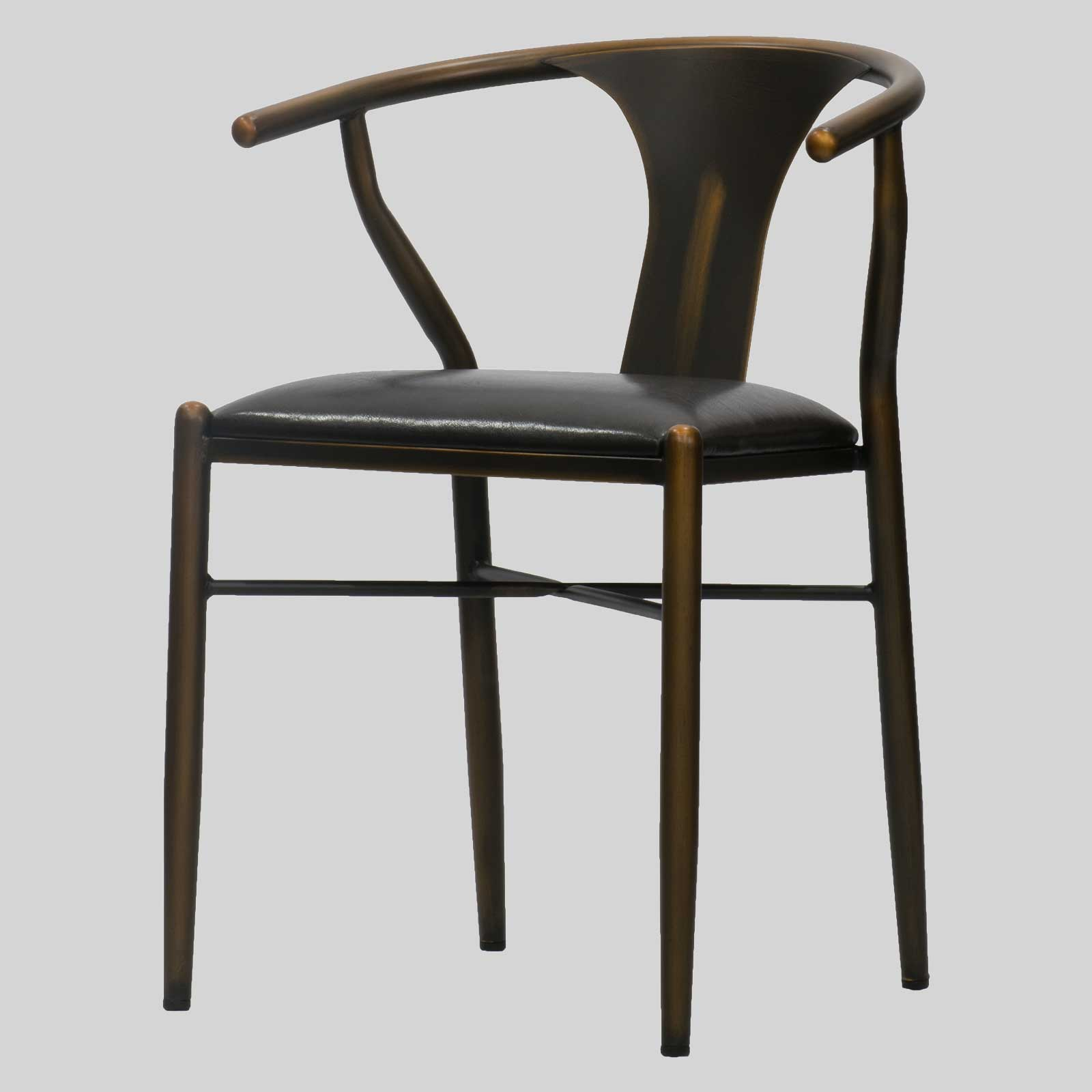 coleman chair accessories rubber feet replacement restaurant in distressed copper the