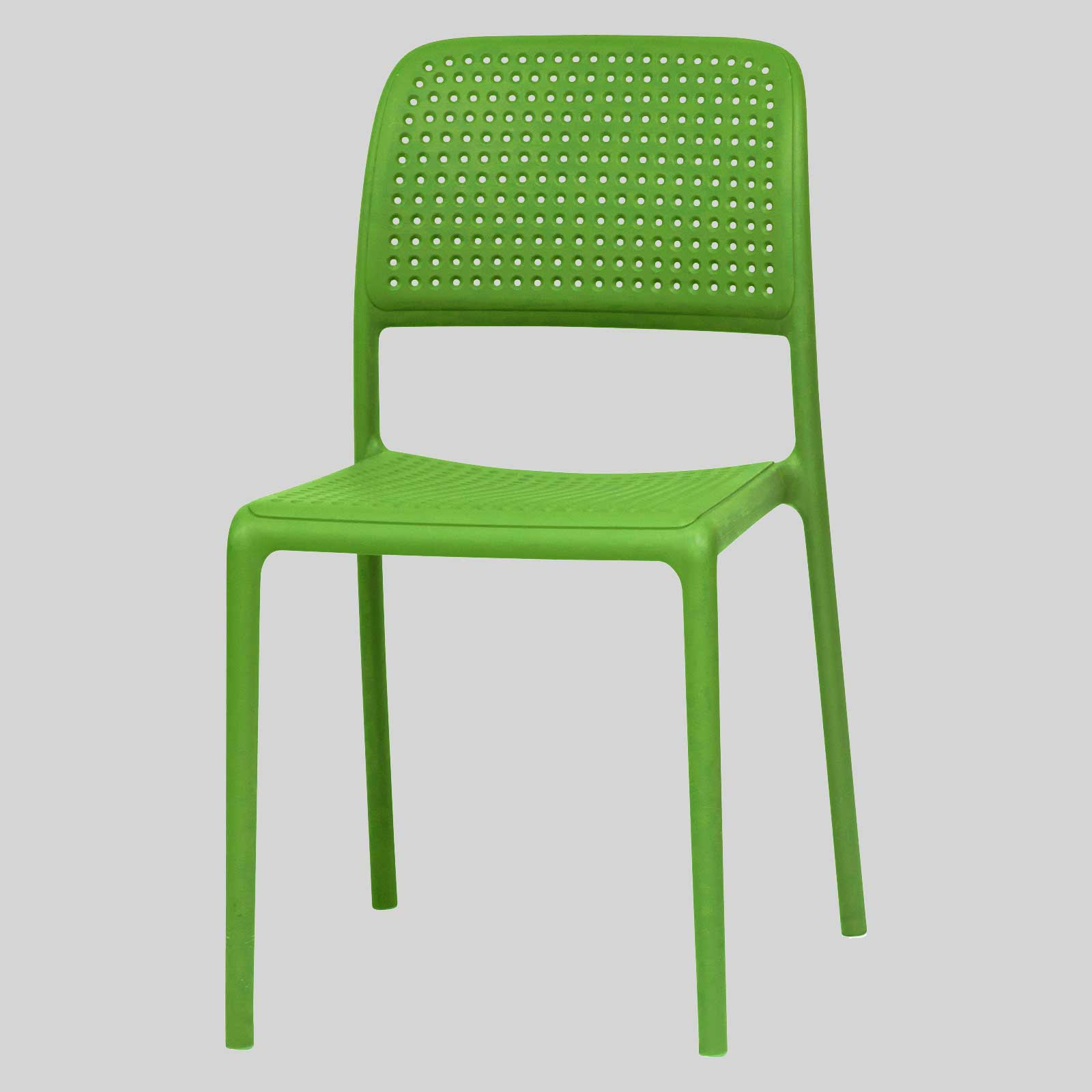 Green Patio Chairs Plastic Chairs For Outdoor Venues Dora Concept Collections