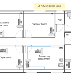 conceptdraw diagram diagramming and network drawing software extended with network layout floor plans solution from the computer and networks area is the  [ 1204 x 725 Pixel ]