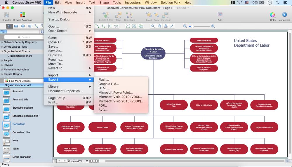 medium resolution of create organizational chart
