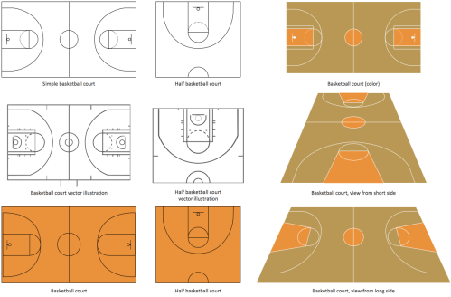 small resolution of basketball court diagram and basketball positions