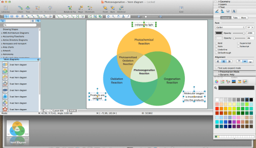 small resolution of venn diagram in visio