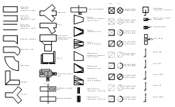 HVAC ductwork symbols, straight duct, straight duct