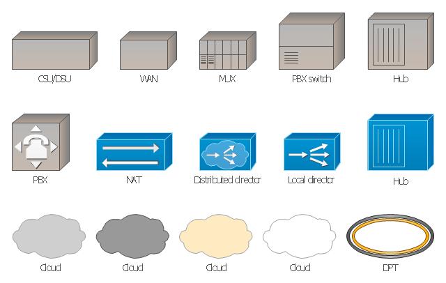 Wide area network icon
