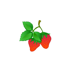 Strawberry Fruit Diagram Trailer Wiring 5 Pin Art | Pictures Of Vegetables Healthy Foods Fruits Clipart