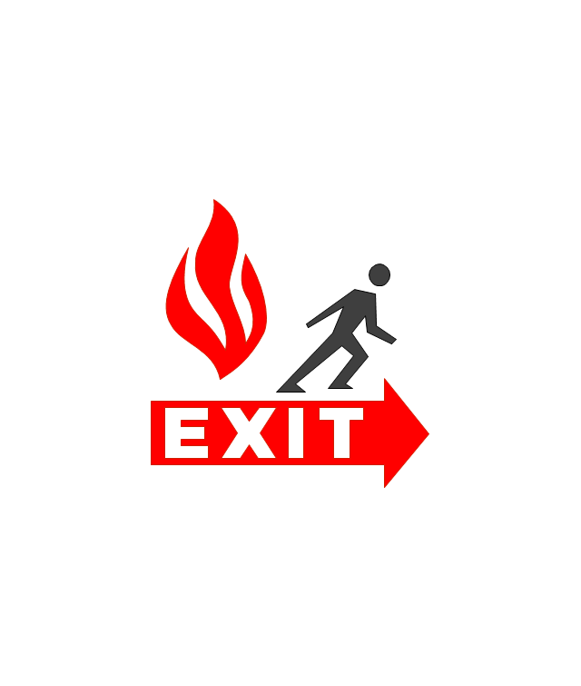 example of fire exit diagram 1995 toyota camry belt and emergency plans | plan. building plan examples evacuation ...