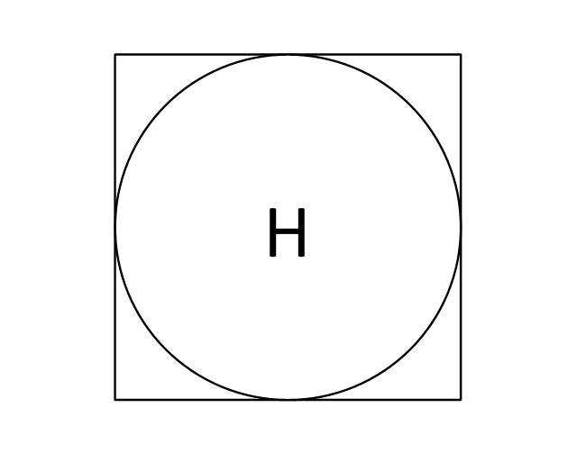 Smoke Detector Symbol Drawing