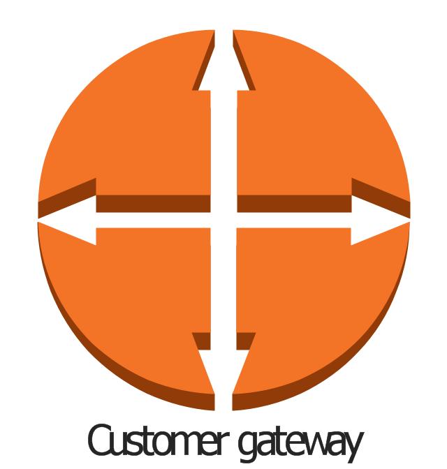 Telecommunication Diagram Symbols Wireless Router Tree Server