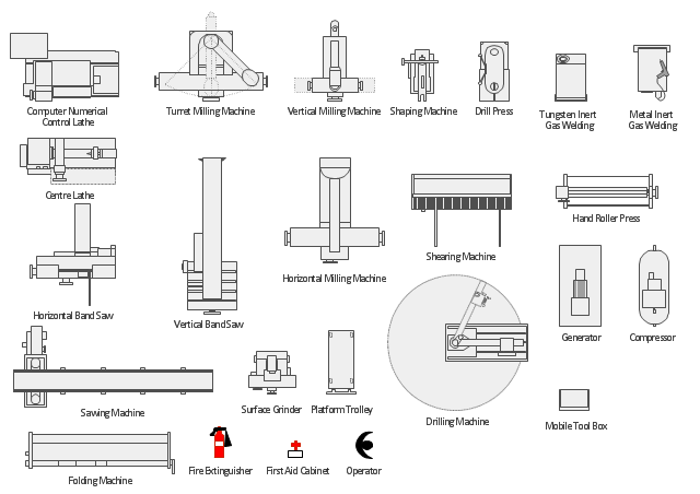 Cnc Machine Shop Floor Layout