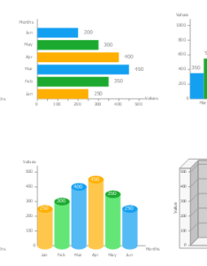 Bar graph templates vertical chart three dimensional also design elements charts rh conceptdraw