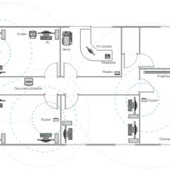 Sample Network Diagram Floor Plan Orbit Fan Switch Wiring Office Wireless