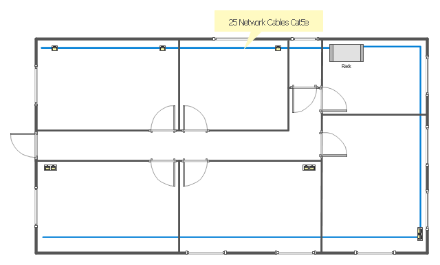 Ethernet Local Area Network Layout Floor