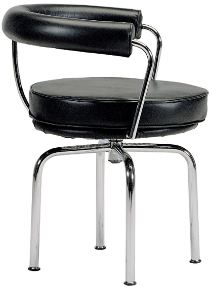 bauhaus swivel chair design gif arm and stool designed by le corbusier base version