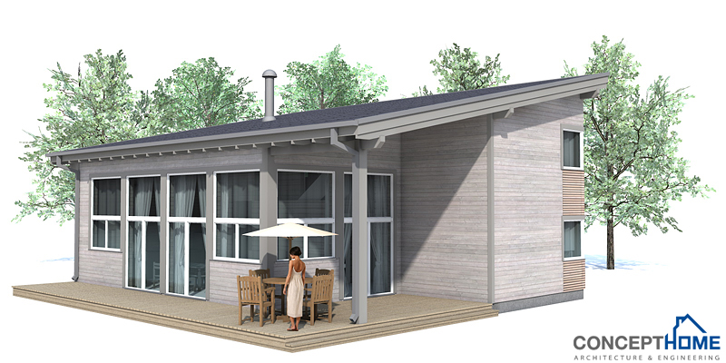 Small House Plan CH52 With Affordable Building Budget