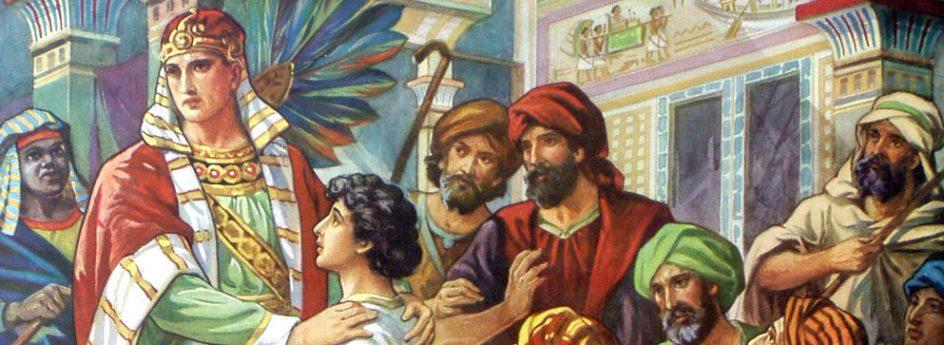 José y sus hermanos en Egipto