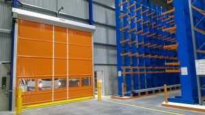 High Speed Rapid Roll Door