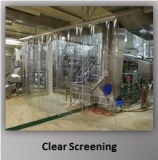 Clear PVC Screen