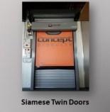 Siamese Twin Doors