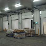 Insulated Vertical Lift Sectional Door