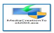 Windows 10 Media Installation Software exe image