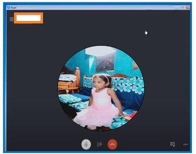 Calling on skype