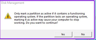 Only-mark-a-Partition-active-notification