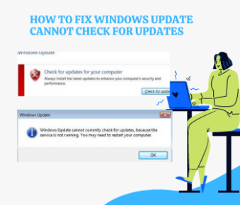 Windows Update currently cannot check for update