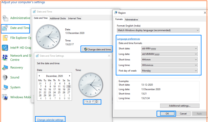 Time-and-date-change-on-Windows-10