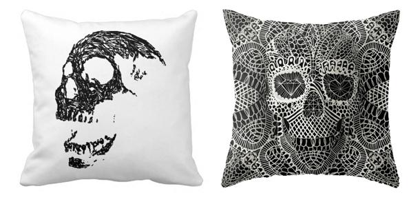 Sugar Skull Pillows Decorative Throw Zazzle