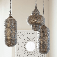 MOROCCAN STYLE HANGING LANTERNS - Concepts and Colorways