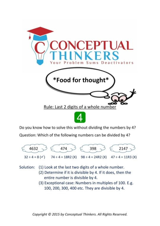 Conceptual Thinkers