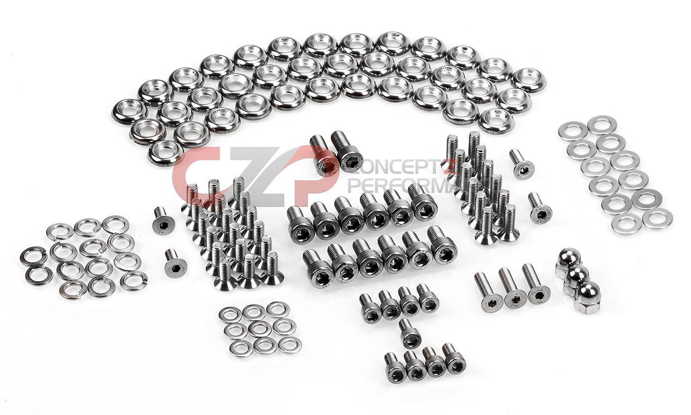 CZP Stainless Steel Engine Bay Bolt Kit Nissan 300ZX 90-96