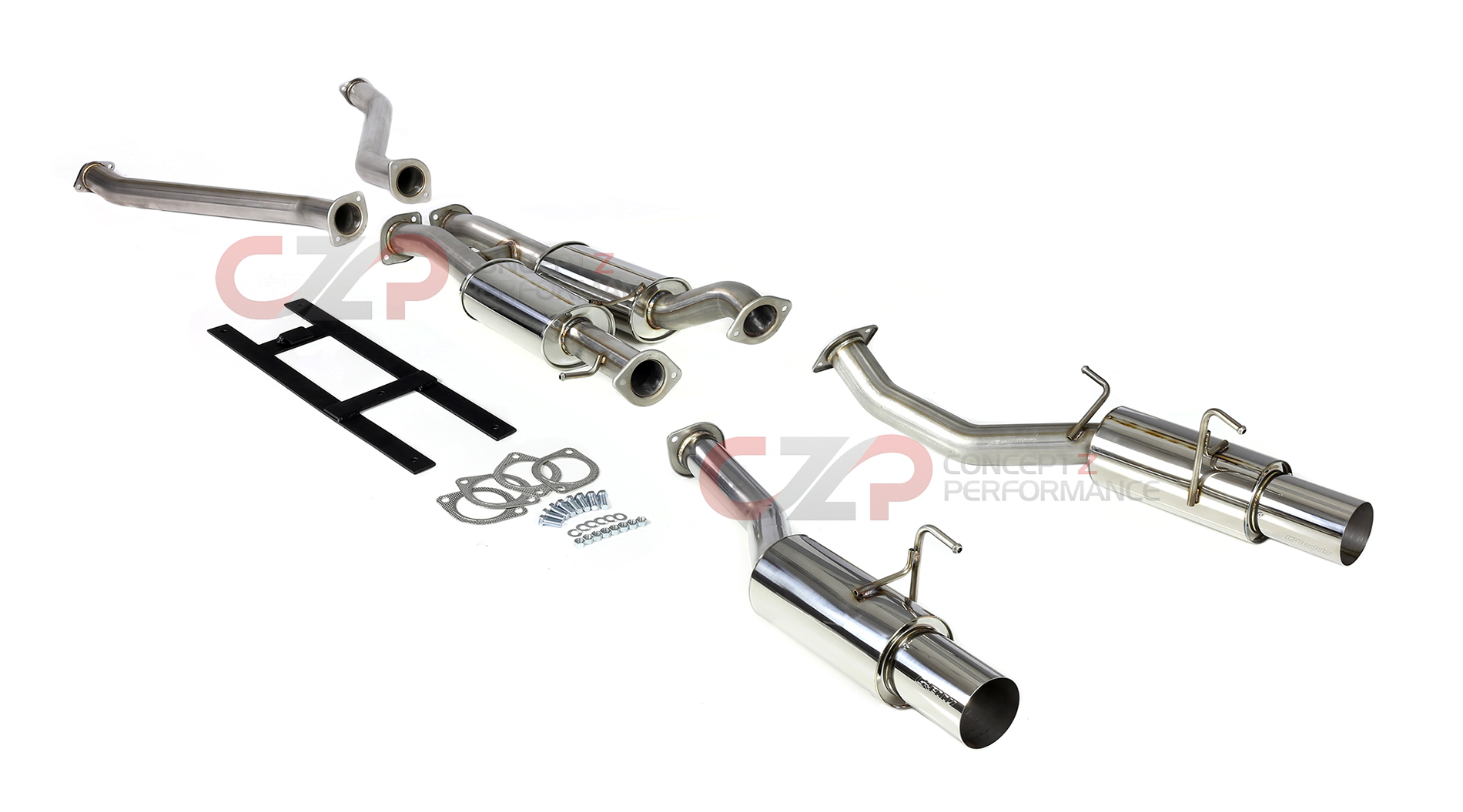 Nissan 350z Performance Exhaust Parts Upgrades And
