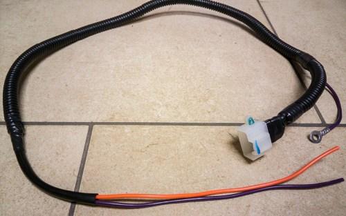 small resolution of custom fuel pump power supply harness