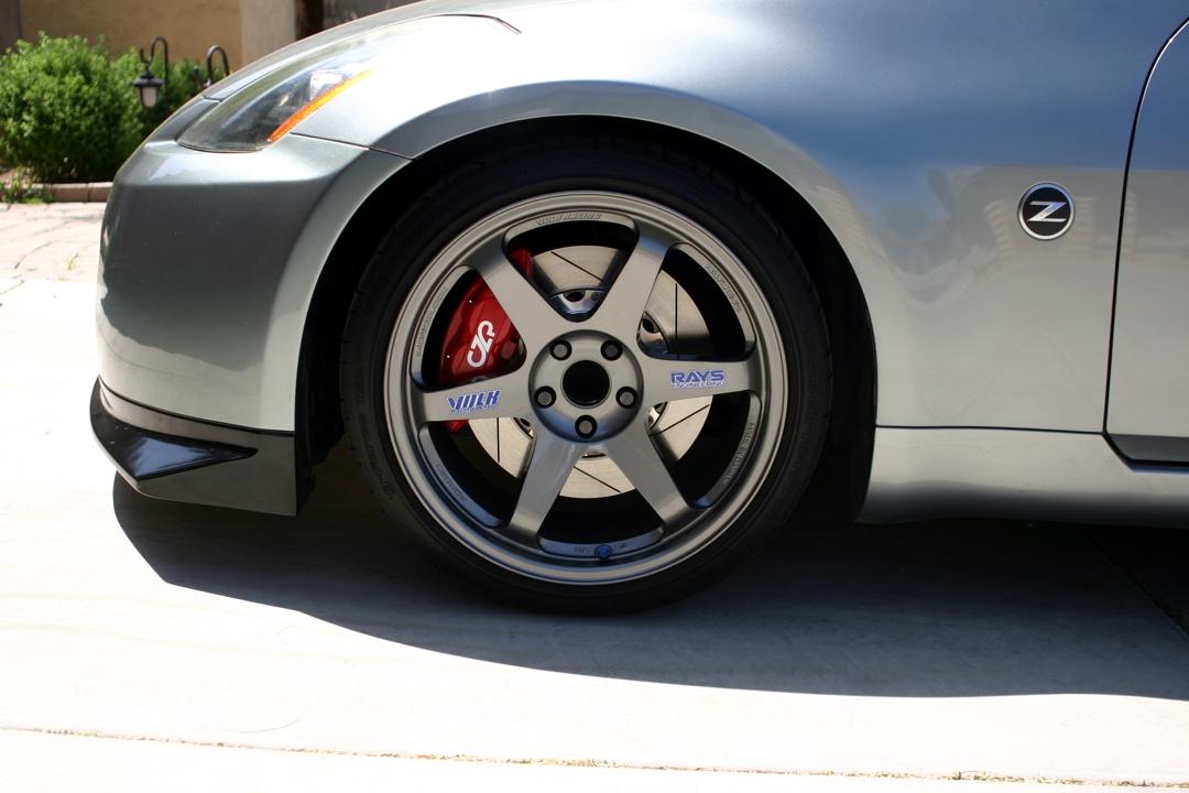 CZP Nissan  Infiniti Akebono Big Brake Kit Front  Rear
