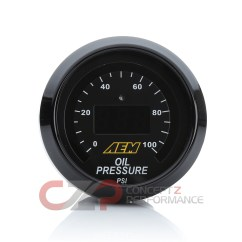 Aem Oil Pressure Gauge Wiring Diagram Bobcat 863 Parts 30 4407 Digital 150 Psi 52mm